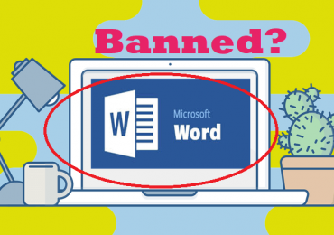 Microsoft word sales banned?