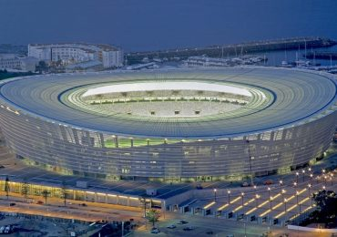 Green point stadium at Cape Town