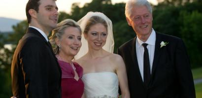 Chelsea Clinton weds longtime boyfriend in New York