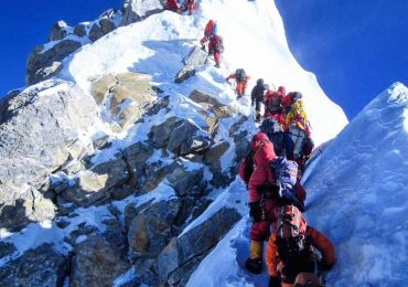 Following the footsteps of Everest climber George Mallory