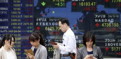 Asian Stocks, Copper Climb on Chinese Manufacturing, US Economic Growth