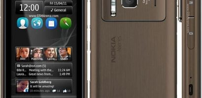 Nokia starts shipment of N8 model, shares up 2 pct