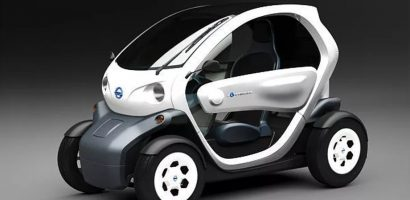 Nissan shows tiny electric concept vehicle