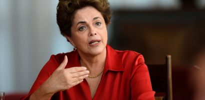 Brazil Swears In Its First Female President