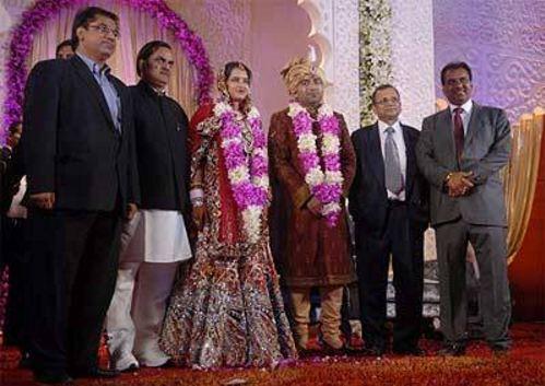Lalit Tanwar married his bride Yogita Jaunapuria