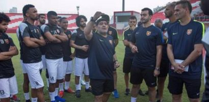 UAE club Al Wasl found Diego Maradona as their coach