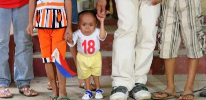 World's Shortest Man Junrey Balawing from Philipines