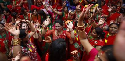 Nepali Teej Song- Aaja ta Bhetna Aaudina Hai Kaalu