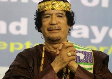 Muammar Gaddafi Buried in a Secret Location