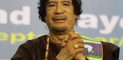 Muammar Gaddafi Buried in a Secret Location