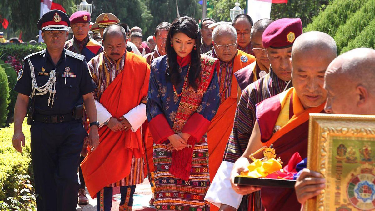 Marriage Ceremony of Bhutanese Monarch
