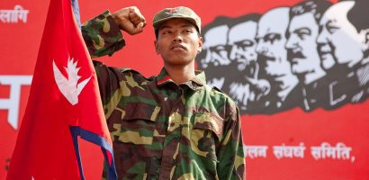 Nepal Army takes charge of Maoist Army and its weapons