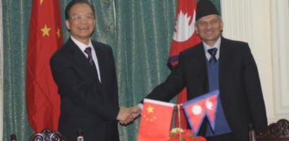 Chinese Prime Minister arrives in Kathmandu