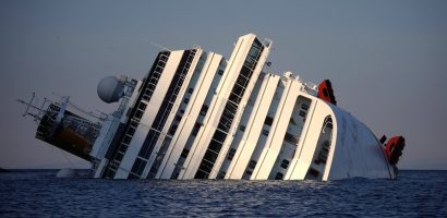 Environmental disaster Fears in Italian Cruise Wreck
