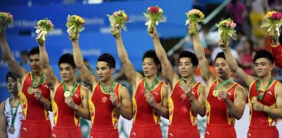 Wow Great Gymnastic group from China