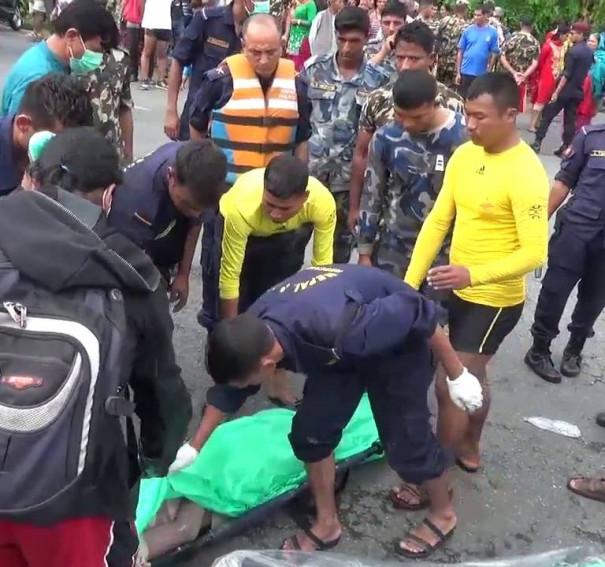 Tourist Drowned in Fewa Lake