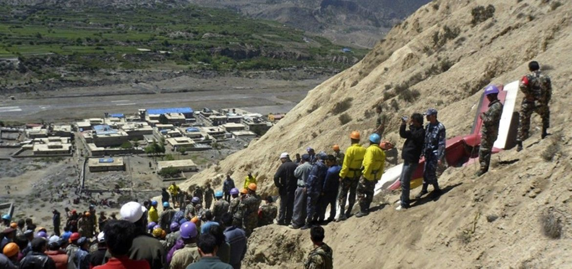 Agni Air crashed in Jomsom claims 16 passangers