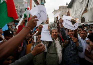 Nepalese show unity behind new constitution