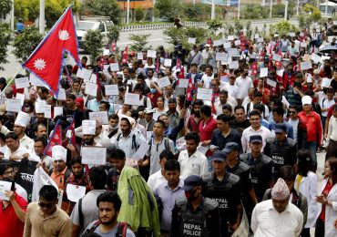 Ordinary Nepalese vent anger at political elite