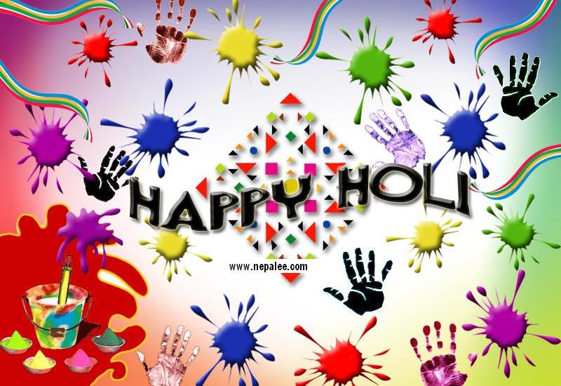 Wish you all Happy, healthy and joyful Holi.