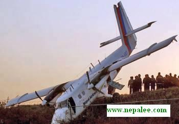 Nepal airlines crash pic
