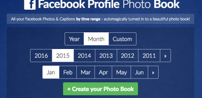 Collaborative online photo albums by Facebook