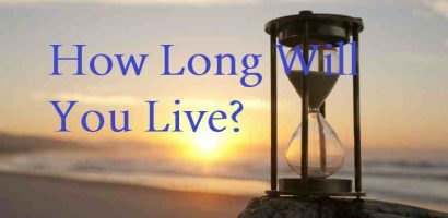 Test your own death – How long will you live?
