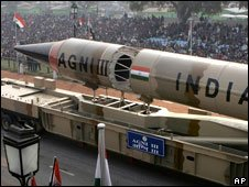 Missile compitition in South Asia