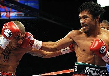 Pacquiao claims stunning victory