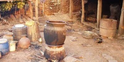 Typical Wine (Raksi) Making.