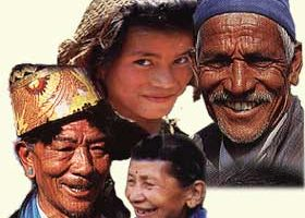 Faces of Nepal.