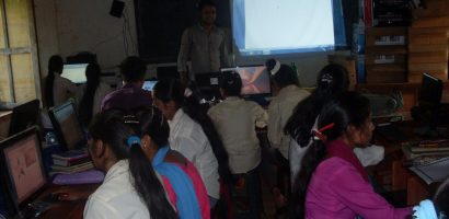 Computer Education in the remote village