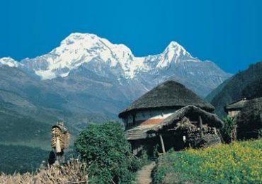 Dhampus Village Annapurna Region Nepal