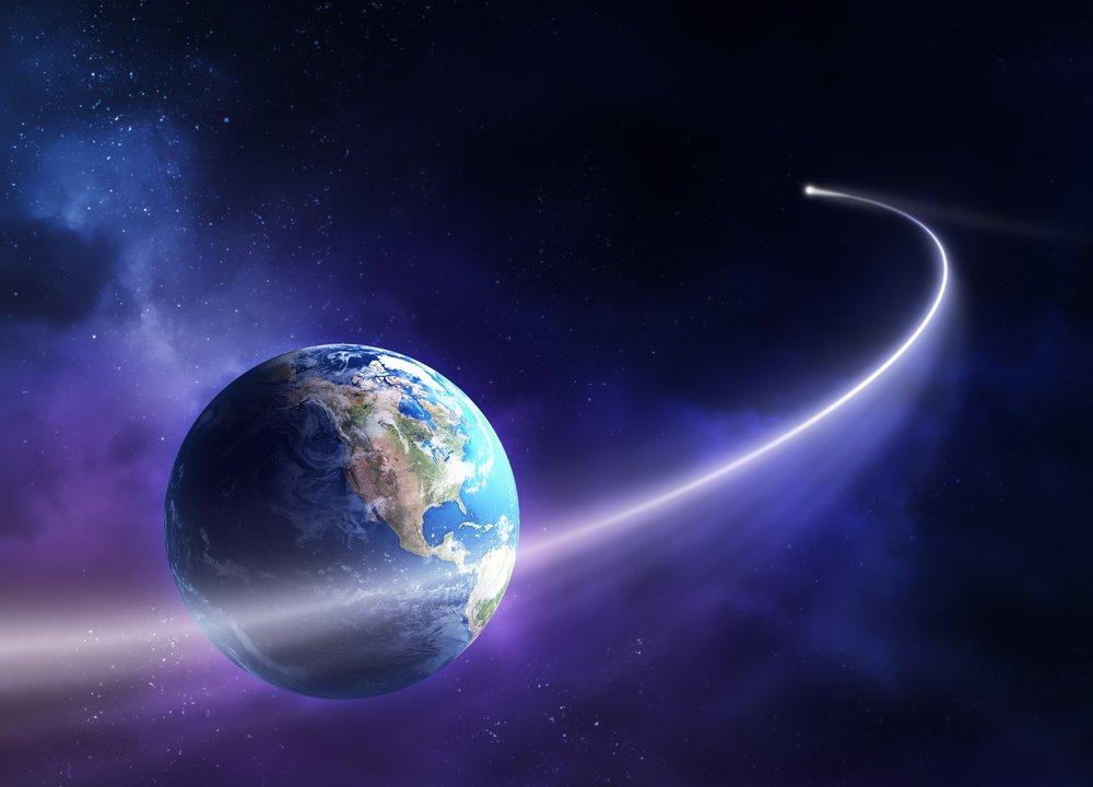 Comet Near Earth orbit back in 2011. - Picture -NASA