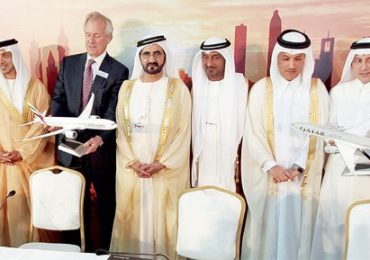 Emirates First: Orders 99 billion Dollar's aircraft