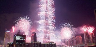 Dubai Prepared for world Record on Fireworks tonight