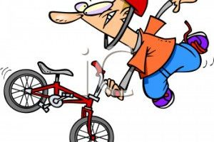 Wow Talent on a Bicycle dance