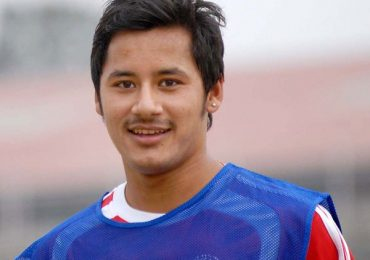 Anil Gurung named Ncell footballer of the year