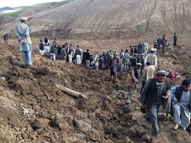 More than 2500 feared killed by landslide in Afghanistan