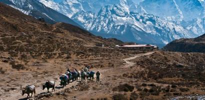 Mountain range of Nepal