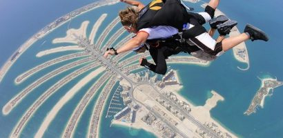 Burj Khalifa Base Jump Video