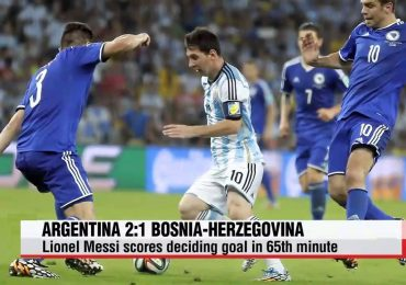 Argentina VS Bosnia World Cup 2014 Highlights
