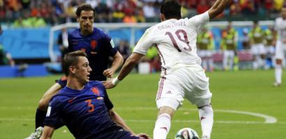 Spain vs Netherland 2014 World Cup Brazil Highlights