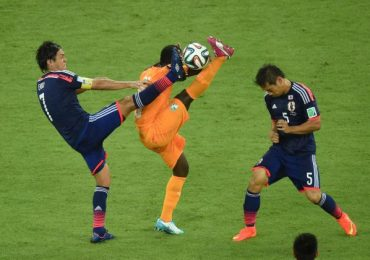 Ivory Coast Fight back over Japan