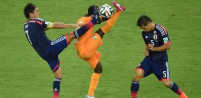 Ivory Coast Fight back over Japan