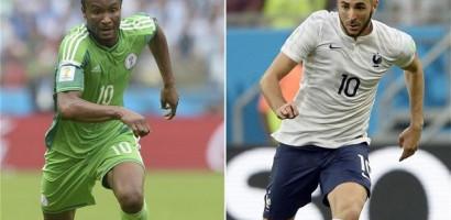 Last Minute goals send France into quarter-finals