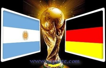 Germany Will Play with Argentina for the Final of Fifa world cup 2014 in Brazil.
