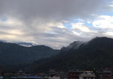 Morning in Pokhara Lakeside