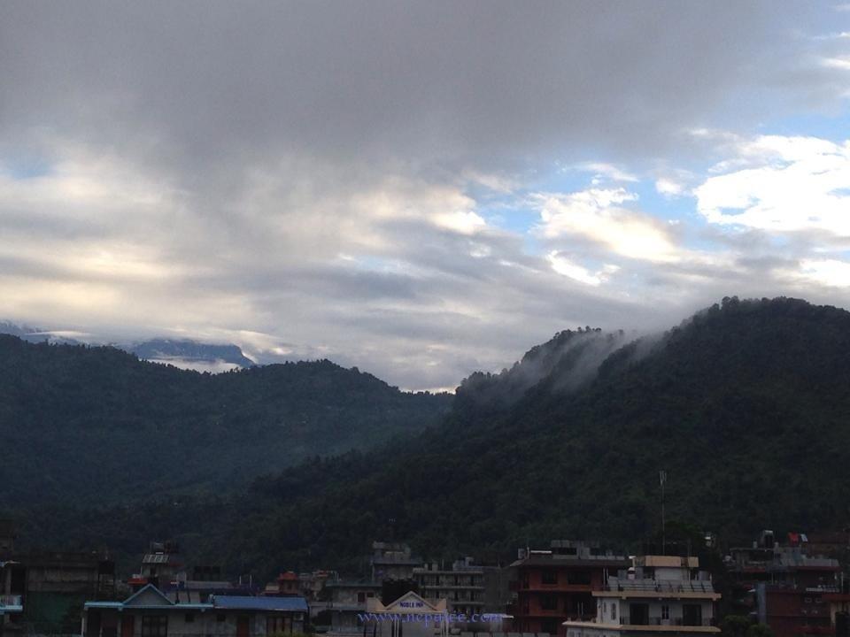 Morning in Pokhara Lakeside