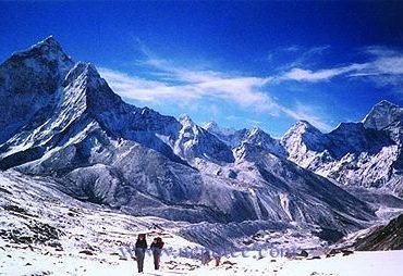 Mountain range of Nepal
